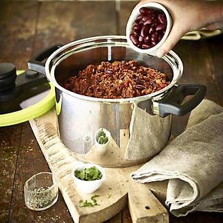 CookQuick Pot Pressure Cooker & Steamer Pan 4L alt image 3