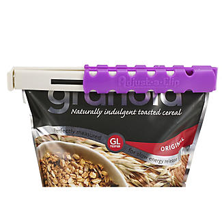 Klippit Adjust-a-clip Long Cereal Storage & Sealing Bag Clip