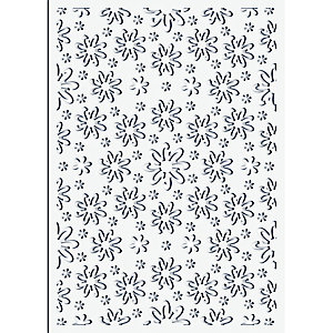 Ditsy Floral Stencil