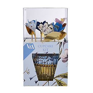 V&A Flowers and Lace Cupcake Kit