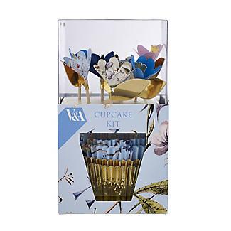 V&A Cupcake Set inkl.48  Förmchen und passender Deko