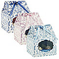 V&A Flowers and Lace 3 Lace CupCake Boxes