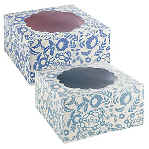 V&A Flowers and Lace 2 Large Lace Cake Boxes