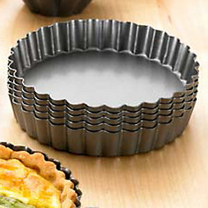 6 Loose Based Tartlet Tins