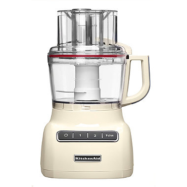 KitchenAid 2.1L Food Processor Almond Cream 5KFP0925BAC