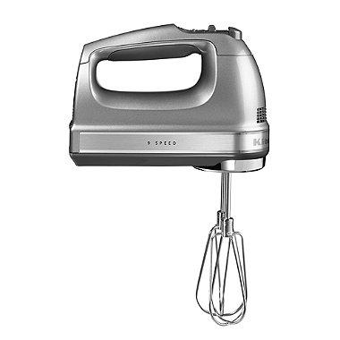 KitchenAid® Hand Mixer Contour Silver 5KHM9212BCU