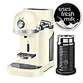 Kitchenaid® Nespresso® with Frother Cream