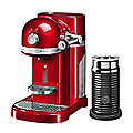 Kitchenaid® Nespresso® with Frother Red