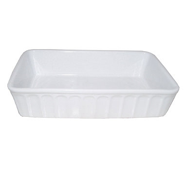 Gourmet Kitchen Oblong Serving Dish