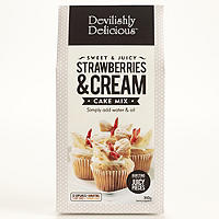 Devilishly Delicious Strawberries & Cream Cake Mix