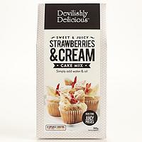 Devilishly Delicious Strawberries & Cream Cake Mix