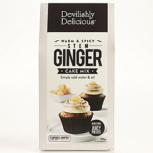 Devilishly Delicious Stem Ginger Cake Mix
