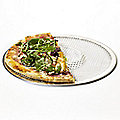 Perforated Mesh Fresh & Frozen Pizza Crisper Oven Tray