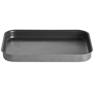 Hard Anodised Shallow Roasting Tin 37 x 26cm alt image 1