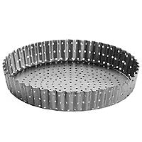 Perfobake Loose Based 20cm Perforated Quiche Tin