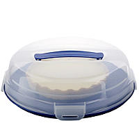 Cake Carrier Caddy & Clear Lid - Round