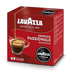 16 Lavazza A Modo Mio Coffee Pods - Espresso Passionale - Strong
