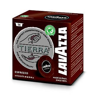 16 Lavazza A Modo Mio Coffee Pods - Tierra Espresso - Strong