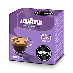 16 Lavazza A Modo Mio Coffee Pods - Soavemente Espresso - Mild
