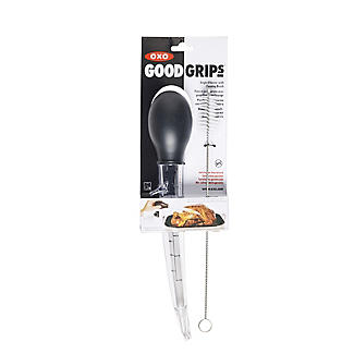 OXO Good Grips Angled Baster with Cleaning Brush alt image 3