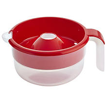 Microwave Cookware - Red No Boil Over Milk Jug