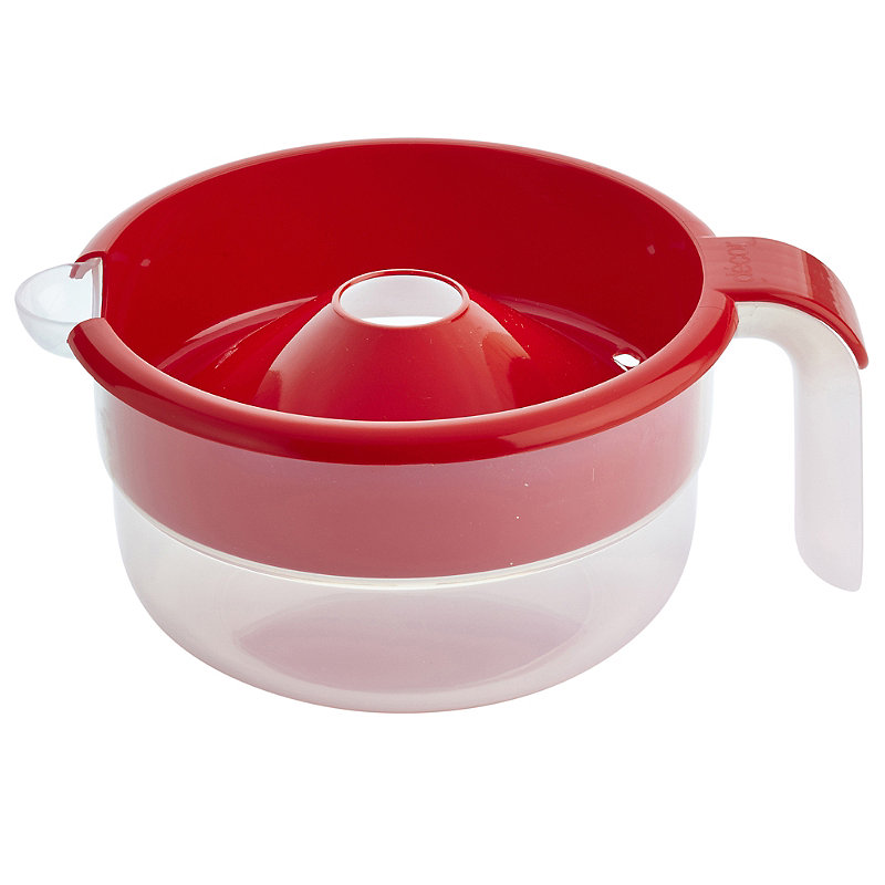 Microwave Cookware - Red No Boil Over Milk