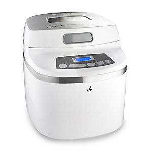 Lakeland Small Space Bread Maker White - 2 Loaf Sizes