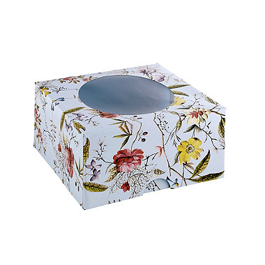 V&A Flowers and Lace 2 Large Floral Cake Boxes