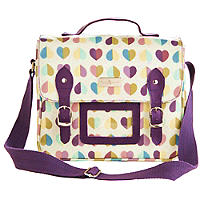 Vintage Confetti Lunch Satchel