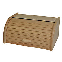 Beech Roll Top Bread Bin