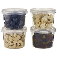 4 Snack Tubs