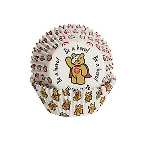 50 Pudsey Be a Hero Cupcake Cases