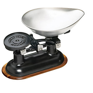 Traditional Cast Iron Balance Kitchen Weighing Scale