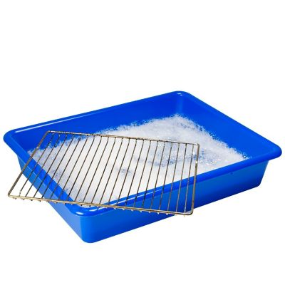 Large oven rack grill soaking cleaning tray - Clean oven tray less minute ...