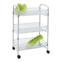 Chubby Mesh Cart 3 Tier Vegetable Kitchen Storage