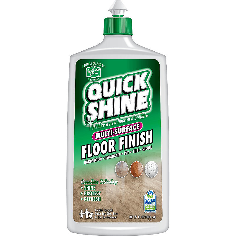 Quick Shine Ultra Gloss Sealed Wooden Floor Finish Polish