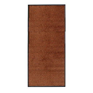 Brown Microfibre Runner