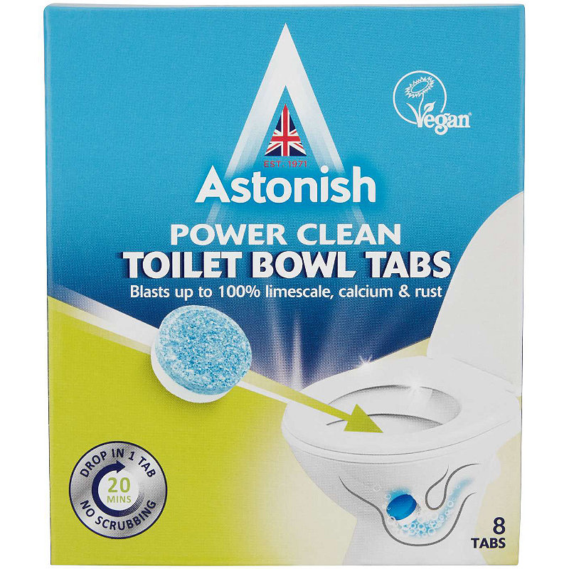 10 Astonish Toilet Bowl Cleaner Tablets