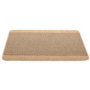 Hard Wearing Non Slip Indoor Floor & Door Mat Natural - 100 x 67cm