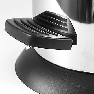 Lakeland Slimline Kitchen Waste Pedal Bin - Silver 20L alt image 2