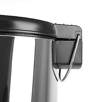 Lakeland Slimline Kitchen Waste Pedal Bin - Silver 20L alt image 3