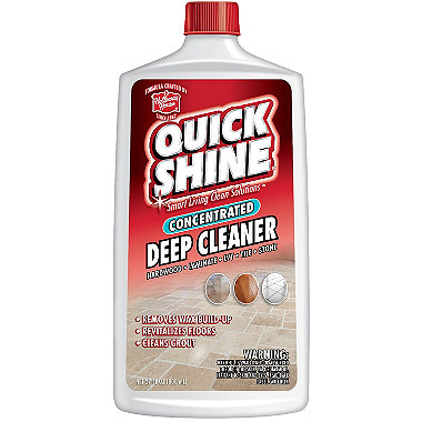Quick Shine Deep Cleaner & Wax Remover