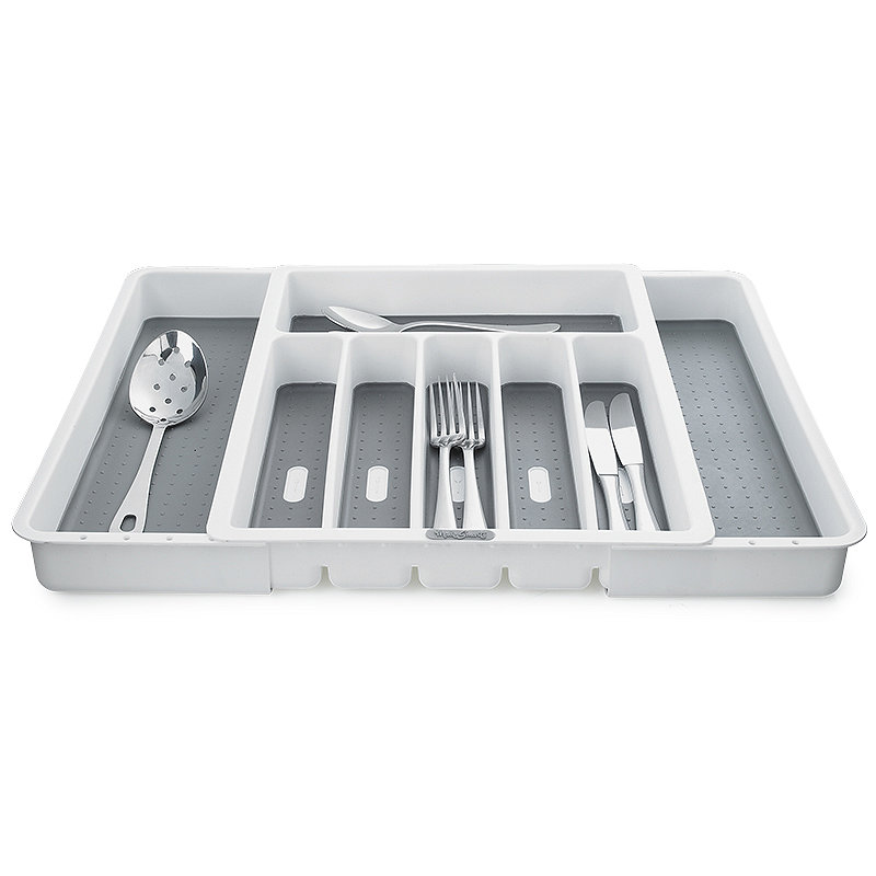 Expanding Drawer Organiser Cutlery Tray 6-8 Hole -