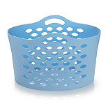Turquoise Flexible Laundry Basket