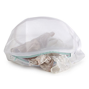 3 White Mesh Net Washing Bags - Various Sizes