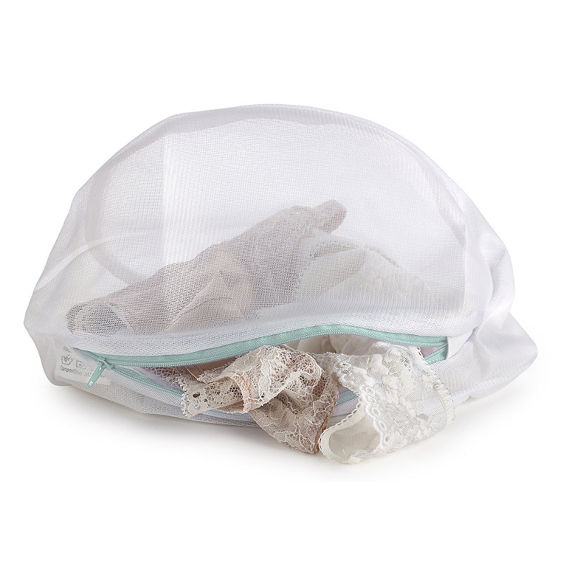 3 White Mesh Net Washing Bags - Various