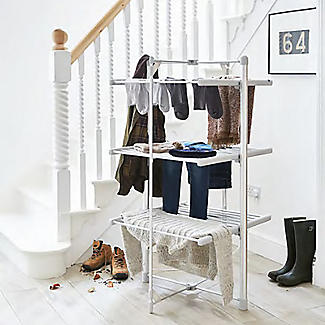 Dry:Soon Standard 3-Tier Heated Tower Airer alt image 3