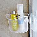 Umbra® Suction Cup Corner Basket