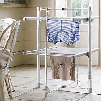 Dry:Soon Standard 2-Tier Heated Tower Airer alt image 2