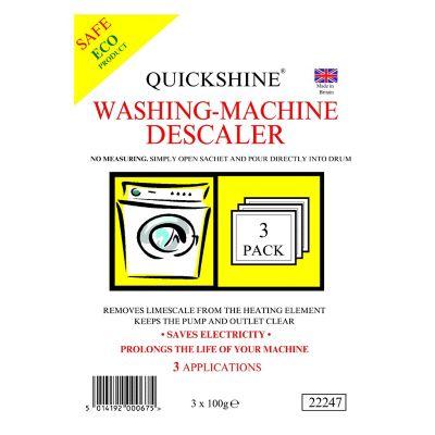 Quickshine Washing Machine & Kettle Descaler Tablets